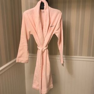 NWOT Calvin Klein Plush Fleece Shawl-Collar Robe